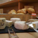 Wachauer Genussfrühstück Käseplatte
