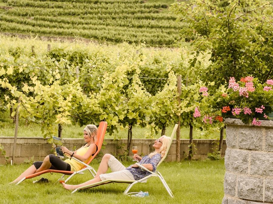 Gästehaus Weinbergblick Garten