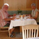 Frühstücken im Gästehaus Weinbergblick